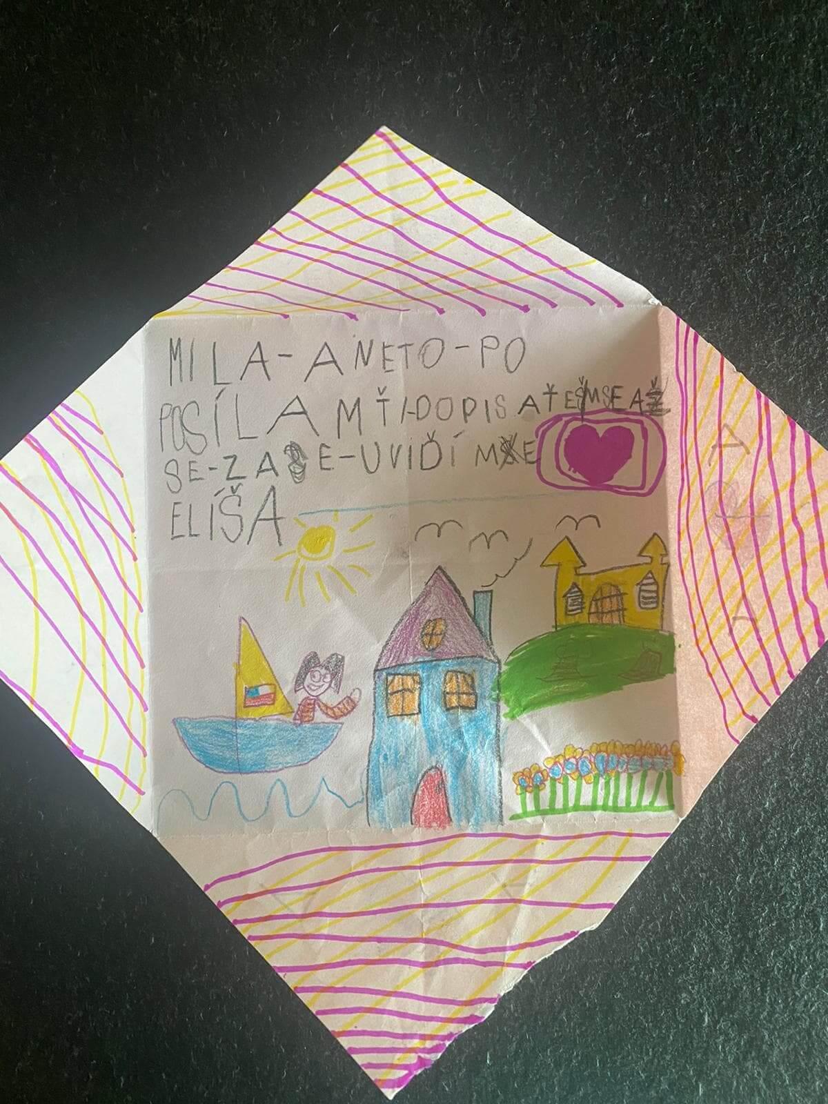 Malovaný obrázek od Elíši
